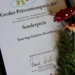 Sonderpreis der Präventionsstiftung Baden-Württemberg
